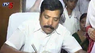 Chaman Takes Charge As Anathapuram ZPTC Chairman : TV5 News