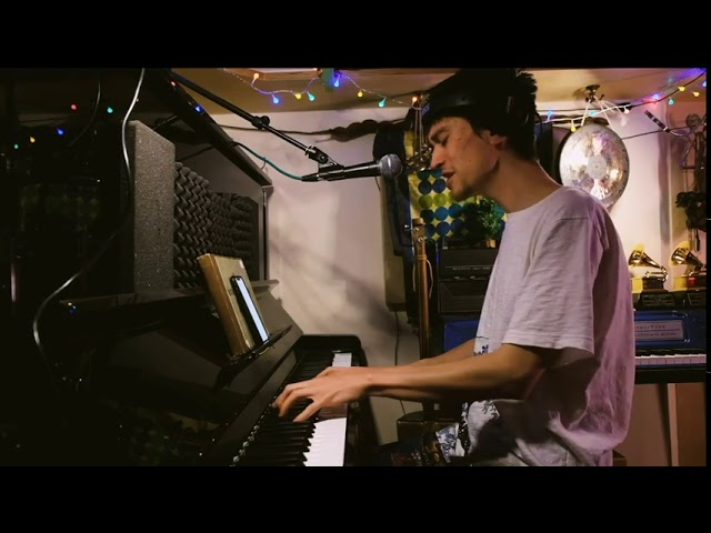 JACOB COLLIER plays I HEARD YOU SINGING in his room!