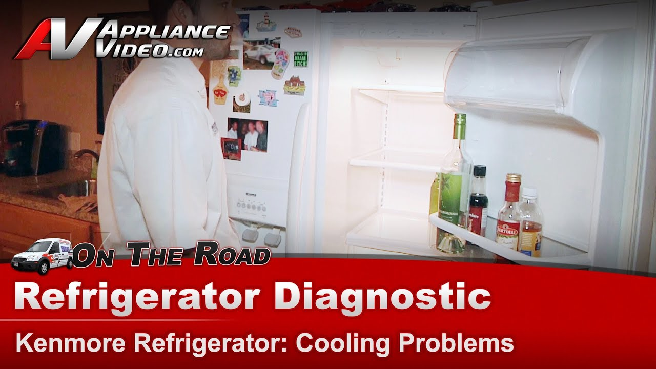 Refrigerator Diagnostic - Randomly Shuts Off  U0026 Not Cooling - Kenmore - Whirlpool
