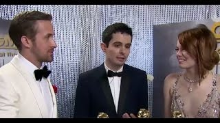 Golden Globes Backstage Interviews