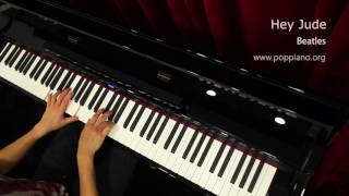 琴譜♫ Hey Jude - Beatles (piano) 香港流行鋼琴協會 pianohk.com 即興彈奏 hkppa