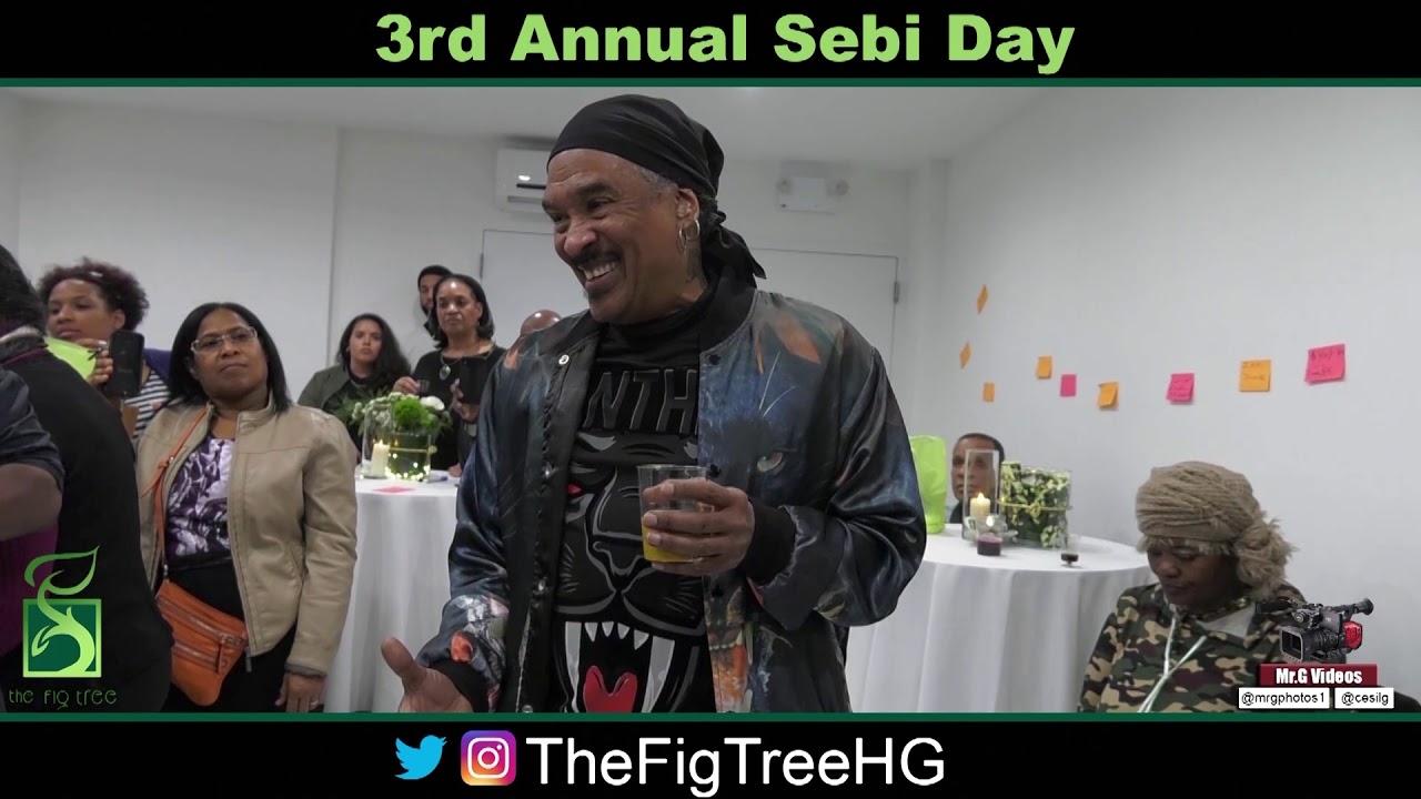 Professor Kaba Kamene Talks About Dr  Sebi At The Fig Tree