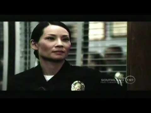 Southland - Lucy Liu (Officer Tang) Youtube Beat Down Scene Season 4