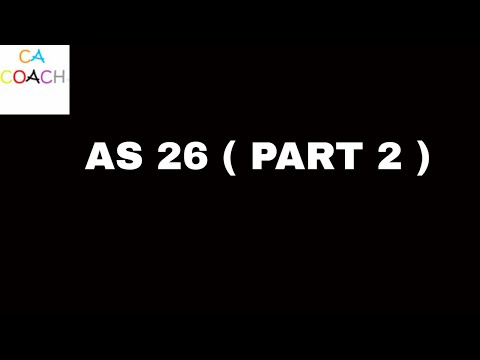 ACCOUNTING STANDARDS 26 ( INTANGIBLE ASSETS) PART2