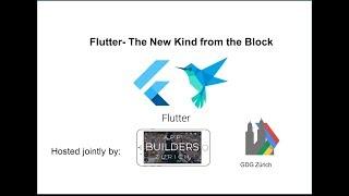 Baixar Flutter  - the new kind from the block: App Builders Zürich & GDG  Zürich