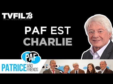 PAF – Patrice and Friends – Paf est Charlie