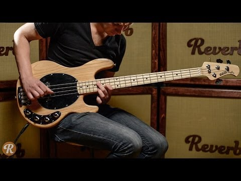 Music Man StingRay 4String Bass Demo  | Reverb Demo