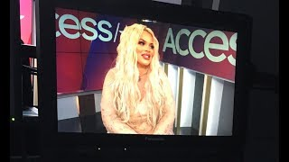I'M ON ACCESS HOLLYWOOD THIS WEEKEND!