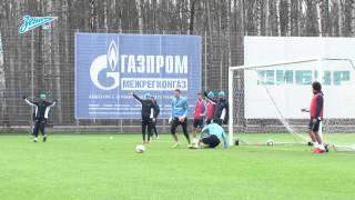 «Зенит-ТВ»: лучшие моменты открытой тренировки перед «Спартаком»
