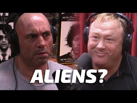 Aliens & Inter-Dimensional War with Alex Jones & Joe Rogan