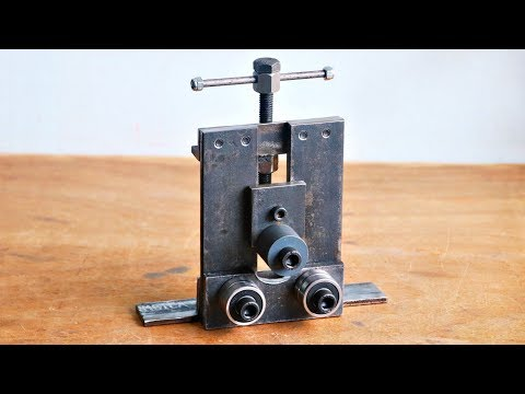 Make A Metal Bender || Homemade Roller Bender