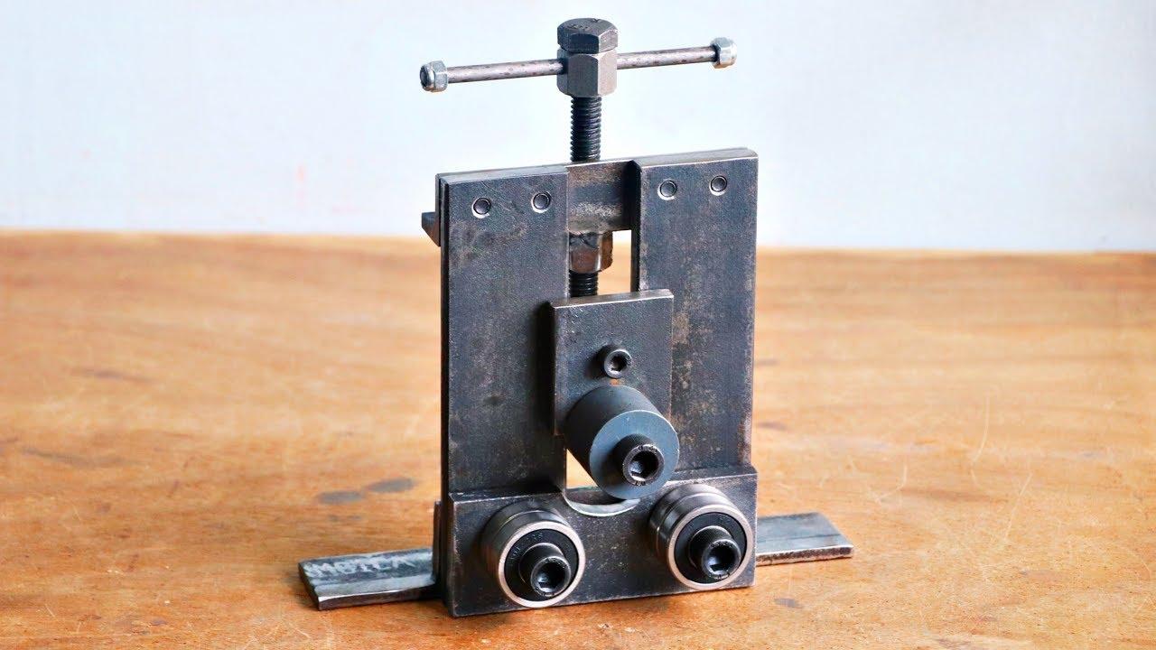 Awesome Metal Bending Machine Homemade At Work Metal Pipe >> Make A Metal Bender Homemade Roller Bender