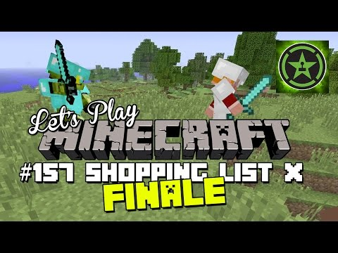 Let's Play Minecraft – Episode 157 – Shopping List X Finale