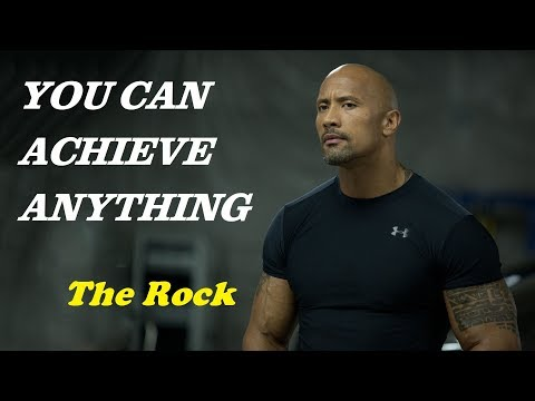 Learn English with Action Movie Star The Rock – Inspirational Speech – English Subtitles