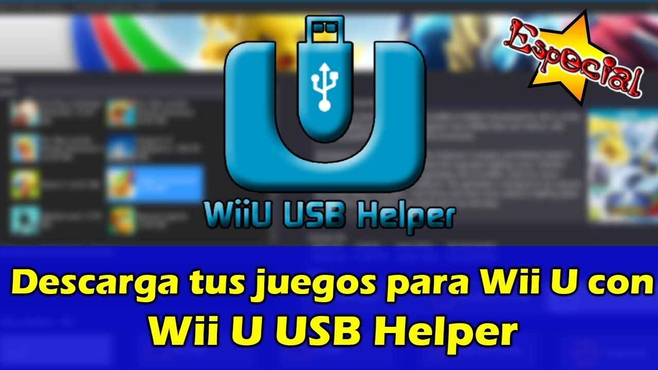 Wii U Downloadable Games : Download your wii u games with usb spanish