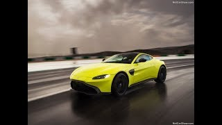 2018 Aston Martin Vantage Lime Essence | Driving | Interior and Exterior Design