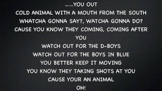 Yelawolf Ft. FeFe Dobson Animal (Lyrics On Screen)