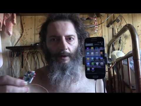 ARDUINO ДЕРЖАТЕЛЬ ДЛЯ СМАРТФОНА ЭЛЕКТРОННЫЙ HOLDER FOR SMARTPHONE ELECTRONIC SERVO