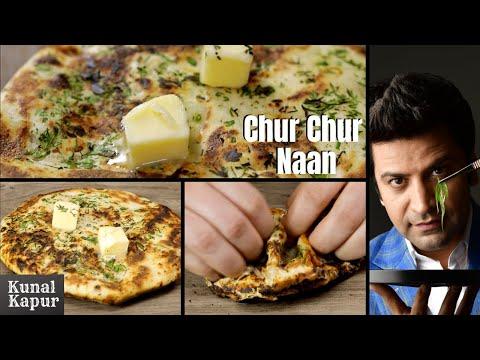 Chur Chur Naan Recipe on Tawa | Amritsari Kulcha Recipe on Tawa | Kunal Kapur Recipes