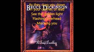 Bruce Dickinson Trumpets of Jericho (lyrics)