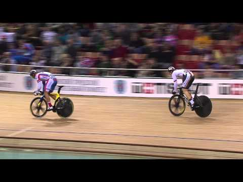 BOTTICHER v DMITRIEV Gold Mens Sprint Final Race , 2013 UCI World Track Championships