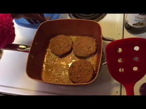 How to make a vegan cheeseburger!