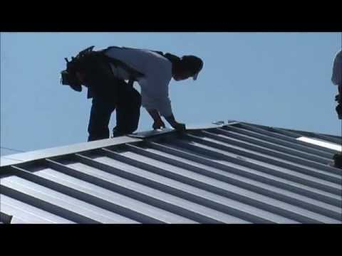 Roofing contractor Florida -production and installation Englert metal Panels