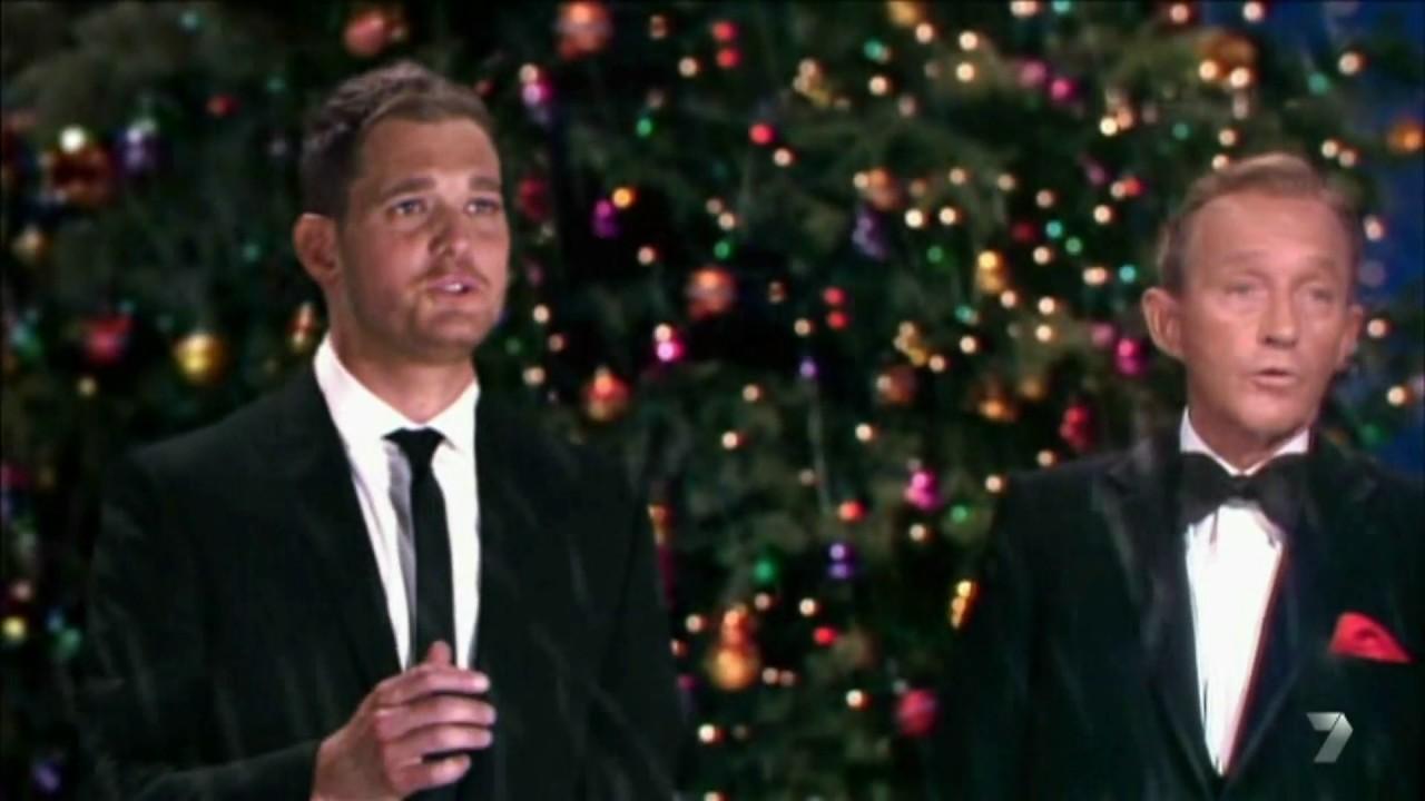 michael buble bing crosby white christmas