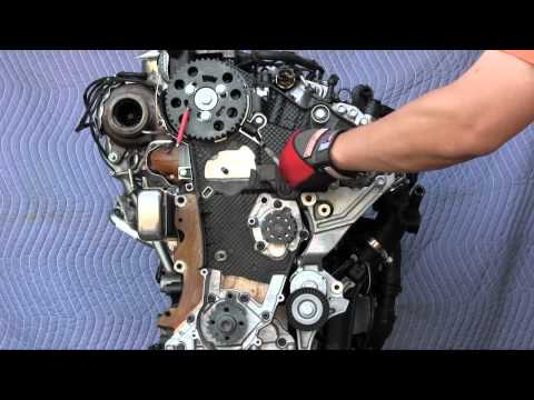 VW Jetta, Sportwagen, Golf TDI, and Audi A3 TDI timing belt replacement - 2.0L engine