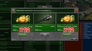 Tanki Online Biggest Gold Box mission ever x24!? Танках Онлайн