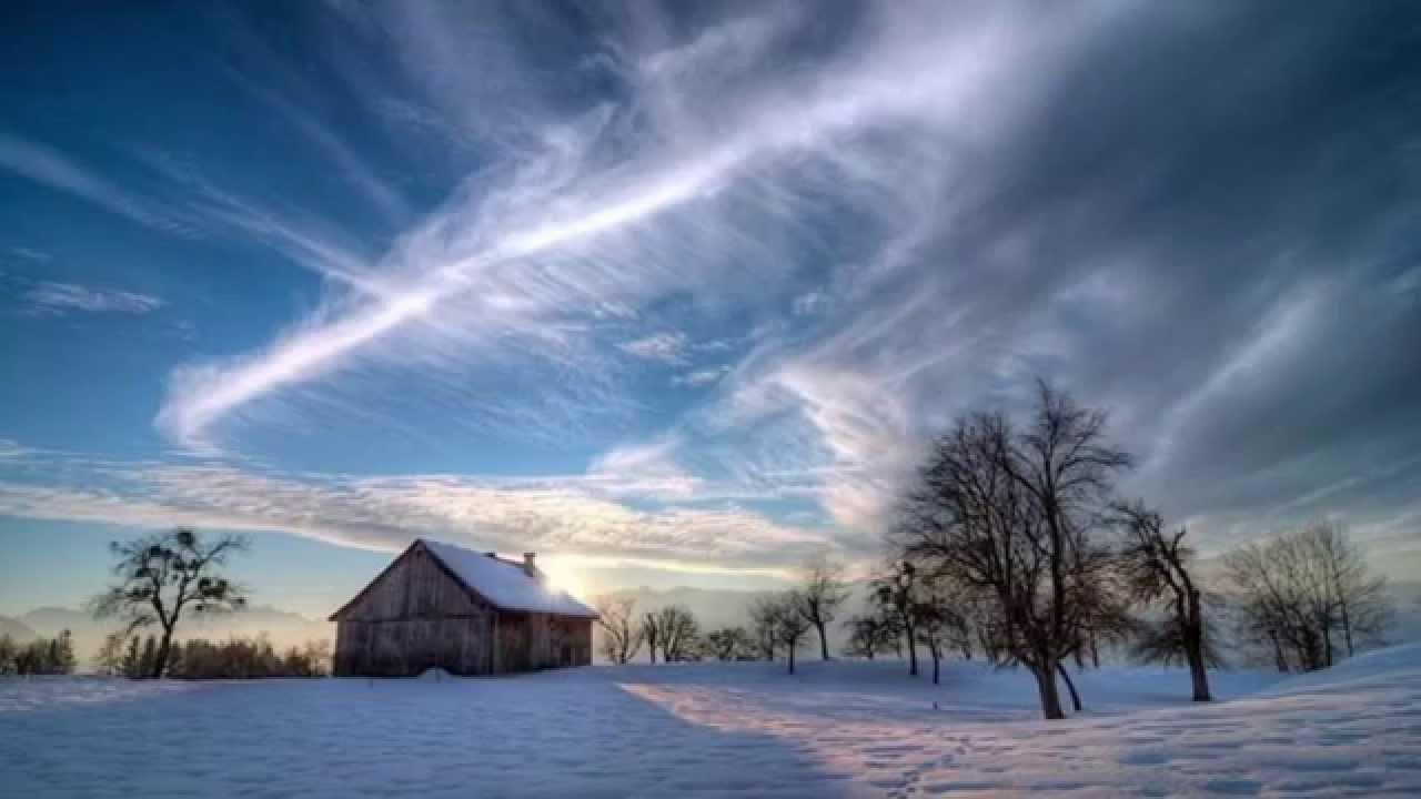 картинки зимнее утро