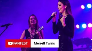 Merrell Twins @ YouTube FanFest Manila 2018
