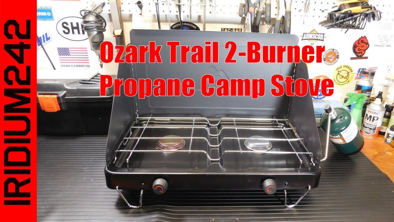 Ozark Trail 2 Burner Propane Camp Stove Youtube