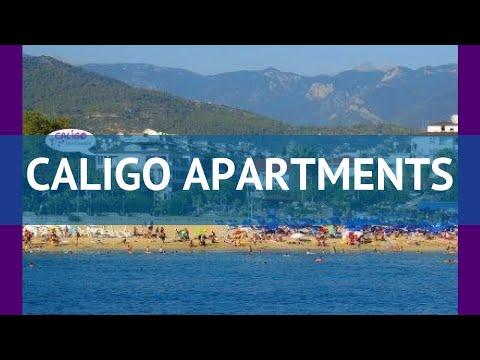 CALIGO APARTMENTS 3* Турция Алания обзор – отель КАЛИГО АПАРТМЕНТС 3* Алания видео обзор