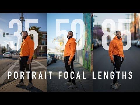 Portrait Focal Lengths Explained - 35mm vs 50mm vs 85mm