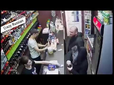 Ветеран Чечни запугал Салават в Башкортостане Радик Алюкаев в магазине Красное и Белое навел ужас