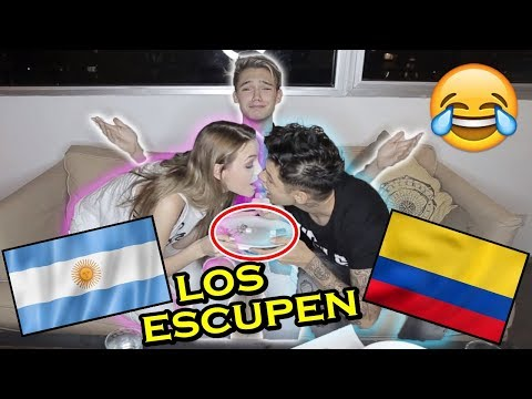 RETO: YOUTUBERS COLOMBIANOS prueban DULCES ARGENTINOS😂 | Ian Lucas FT Paisa Vlogs