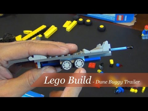Lego City Dune Buggy Trailer Set #60082 - Unboxing and Build