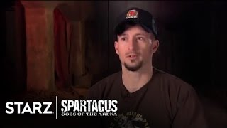 Spartacus | Gods of the Arena - Stunts:  Battle Royale (from DVD) | STARZ