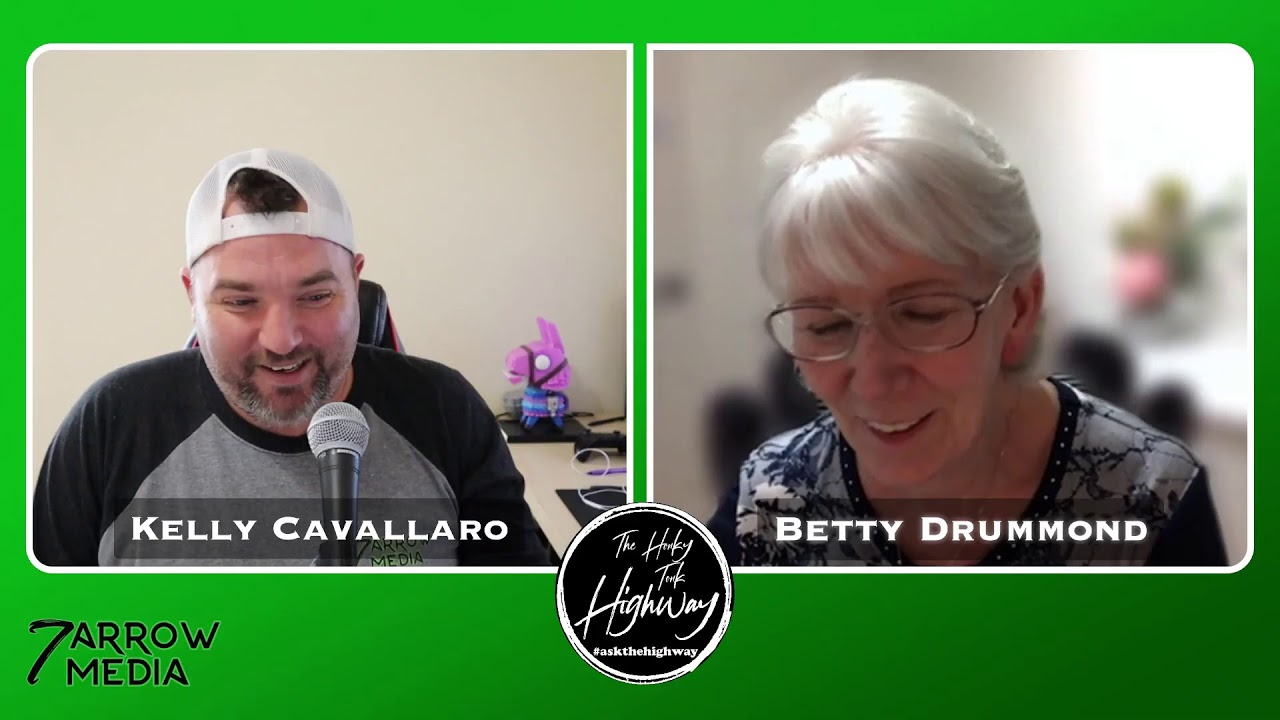 A Chat with Betty Drummond about the CBAs and Zoom - The Honky Tonk Highway Episode 101