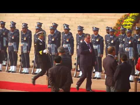 Ceremonial Reception of President of the Republic of Tajikistan - 17-12-16