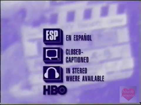 Hbo Adult Language Warning 1995 Youtube