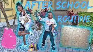 Our New After School Routine YaYa and DJ