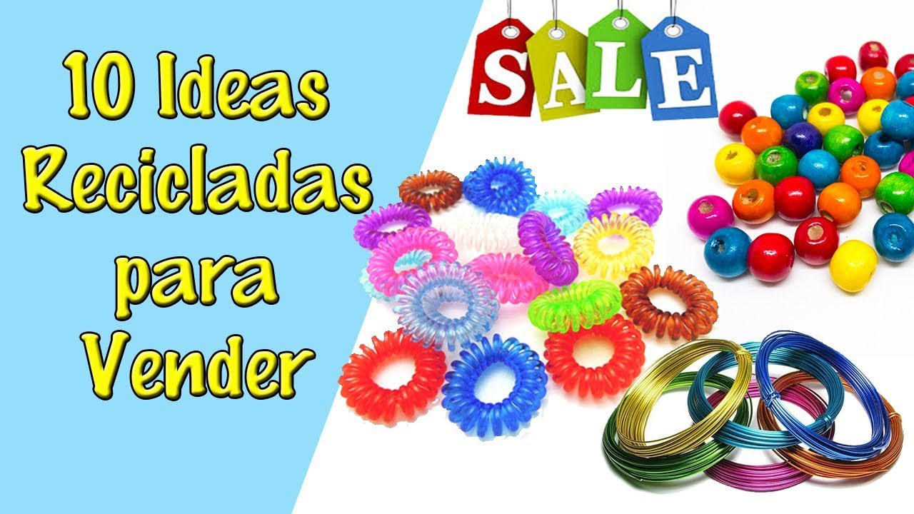 10 ideas de manualidades para vender reciclaje ecobrisa youtube - Manualidades para vender faciles ...