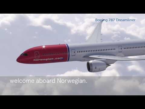 Norwegian Air Shuttle B787-9 Safety Video