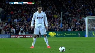 Free-Kick Goals By Cristiano Ronaldo If It Were Not Filmed, No One Would Believe It