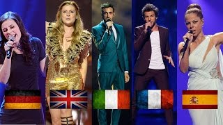 Eurovision BIG FIVE (2010-2016) | My Top 20