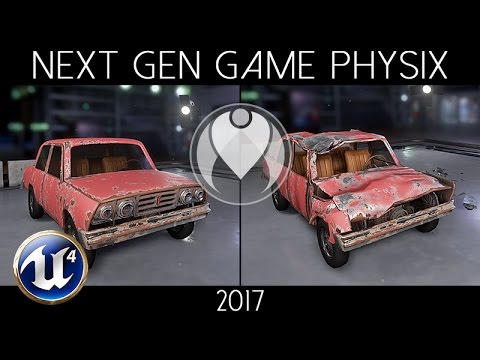 NEXT-GEN INTERACTIVE PHYSICS IN REAL-TIME | Unreal Engine 4 - Ultra Graphics | Nvidia GTX 1080