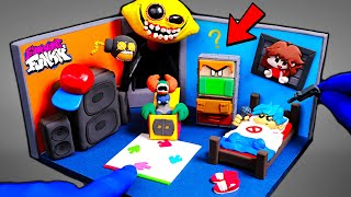 Friday Night Funkin'- Boyfriend's Room Nightmare Mod | Pico,Tricky,Whitty,Lemon Demon!