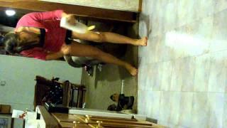 Amazing prank - Slippery floor :)
